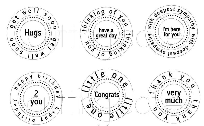 Circle all occasion set 1