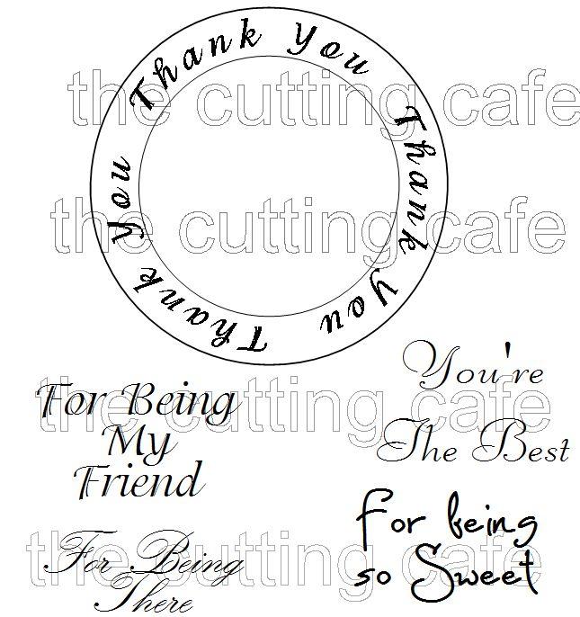 Thank circle