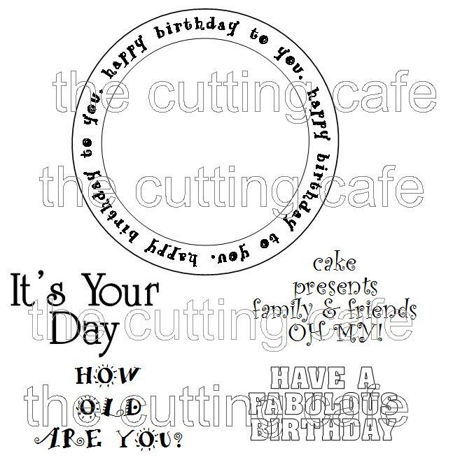 Birthday circle