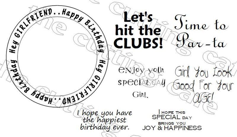 Hey girlfriend happy birthday