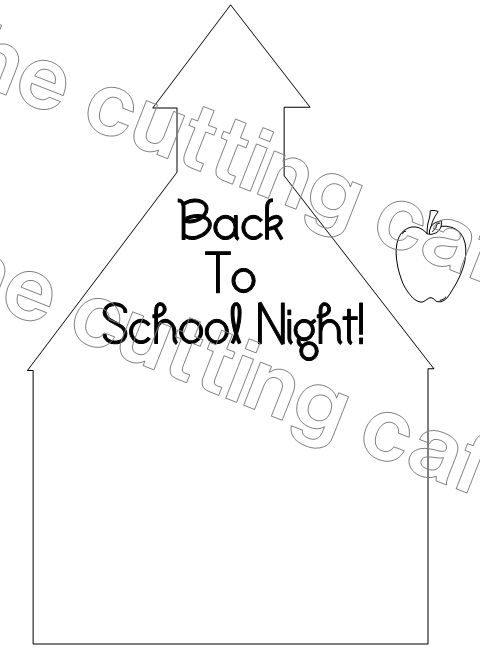 The Cutting Cafe': BACK TO SCHOOL HOUSE HUGE PRINTABLE STAMP
