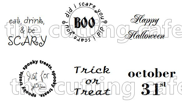 Halloween labels 1