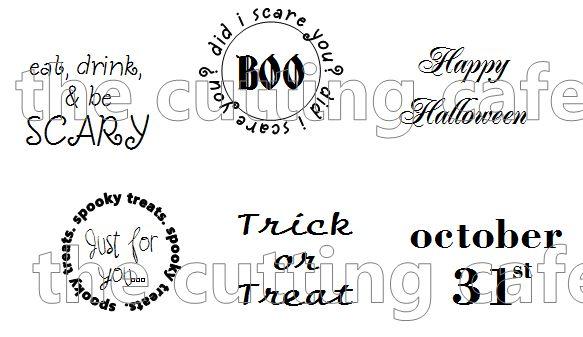 Halloween labels 1