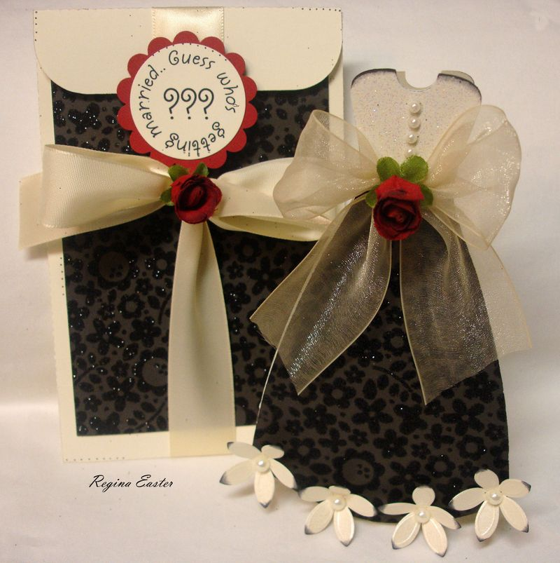 Bridal shower invite with envelope Design Team Projects