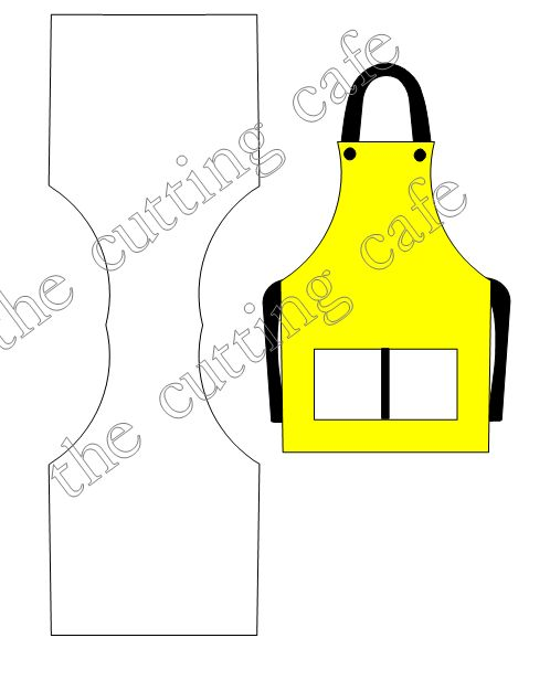 Apron shaped card 2