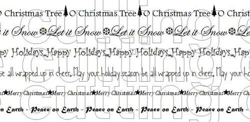 Christmas long phrases