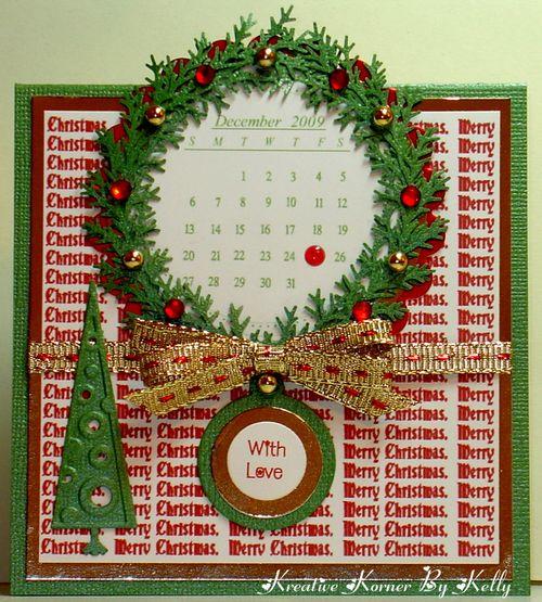 Christmas Calendar with Love
