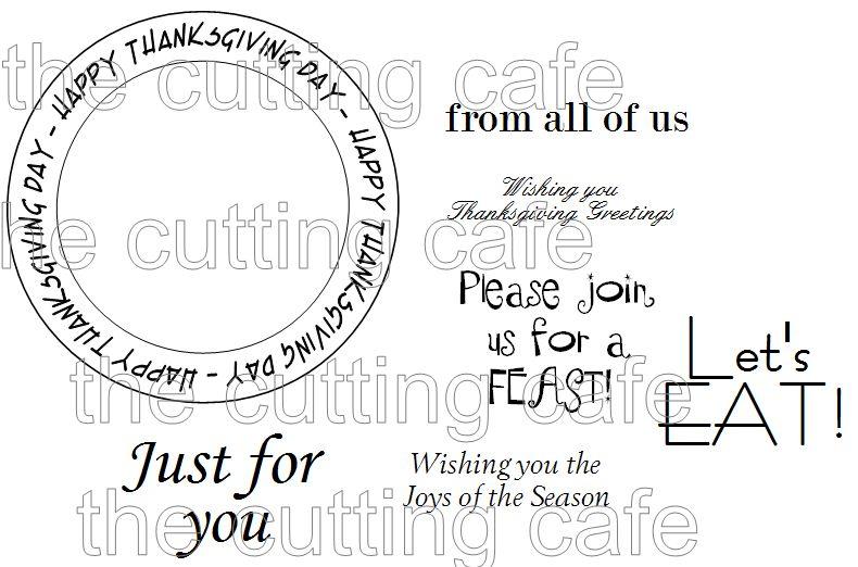 Thanksgiving circle