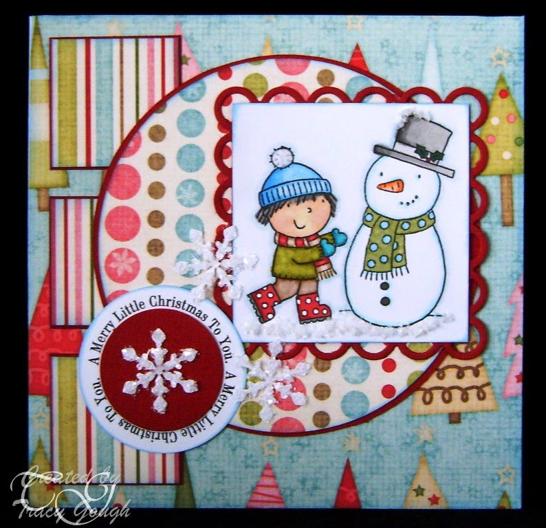A Merry Little Christmas  Tracy Gough - Christmas Circle Words set 2