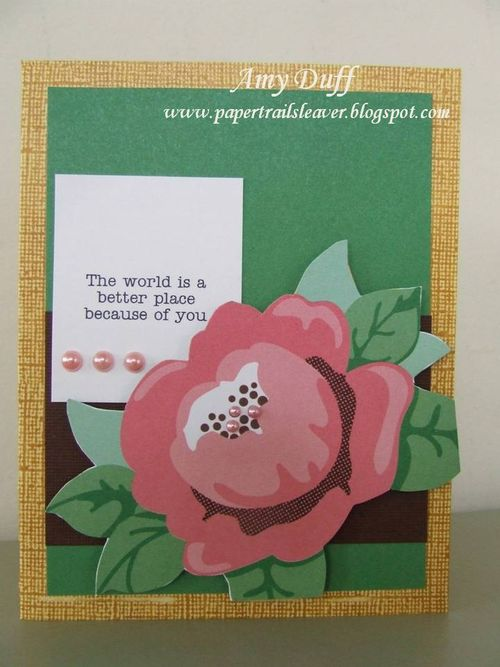 The World is a better place Amy Duff - Everyday greetings set 2 add to both