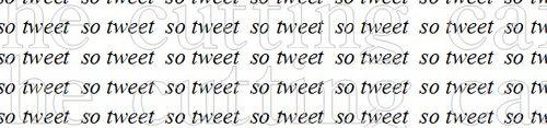 So tweet