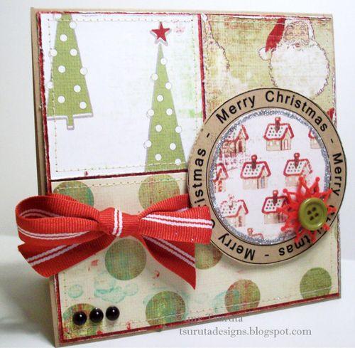 Merry christmas... Amy Tsuruta - Merry Christmas huge word circle