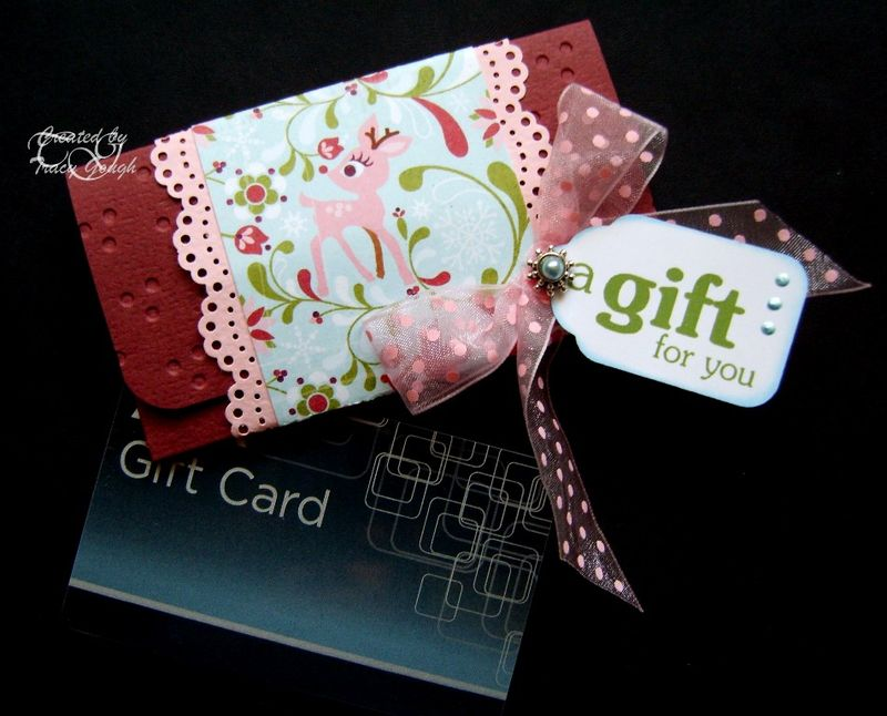 A gift for you   Tracy Gough - Gift card and money holder template