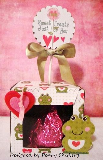 Sweet Treats Penny Shuberg - Happy Valentines Huge circle word