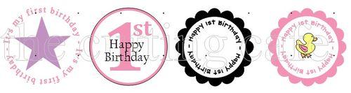 Frist birthday baby girl