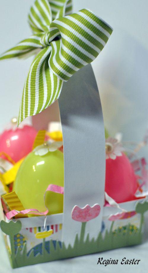 Easter basket side
