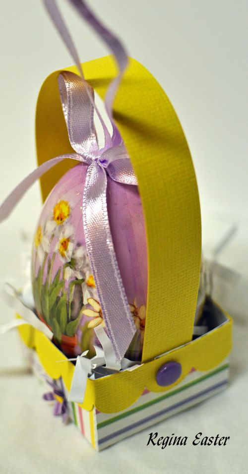 Easter basket small side