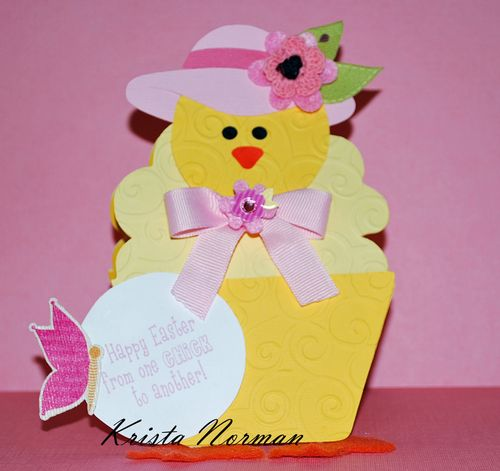 Happy Easter Krista Norman - Easter greetings inside and out