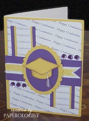 Happy Graduation paperagolisit Happy graduation background stamp and Grad hat shaped card