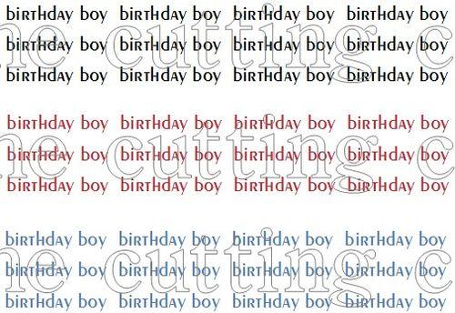 Colorful birthday boy 6.5 set
