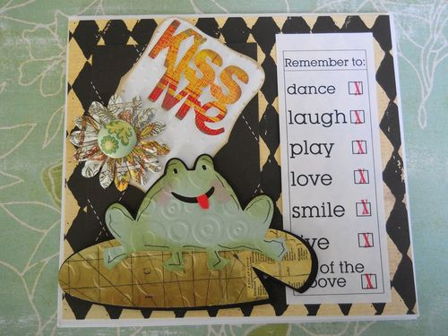KISS ME Carole Lowe Beath - Long Sentiment tags