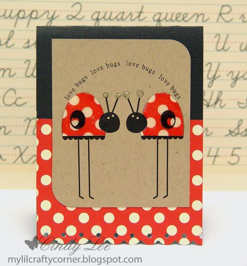 Love bugs Cindy Lee - Cute Critters