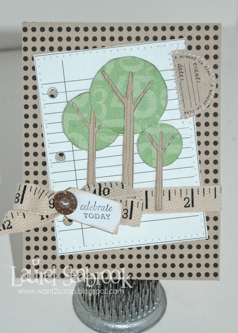 ADD EVENT  Laurel Seabrook - Beautiful Trees and Jot it down and tiny dots