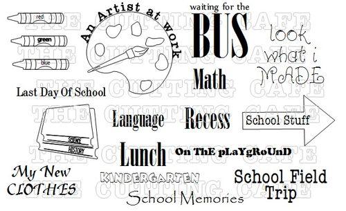 THE SCHOOL YEARS 3