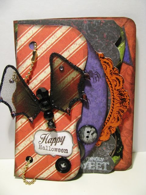 Halloween  Martha  - Mixed shaped book