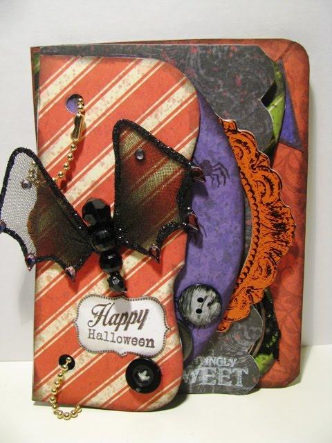 Halloween  Martha  - Mixed shaped book