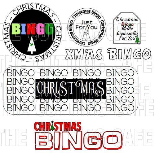 CHRISTMAS BINGO TITLES