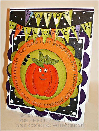 Happy Halloween  Becky Gavins - Halloween banner and Halloween all around