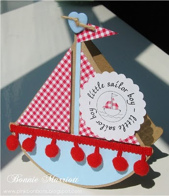 Boat Shaped Card2