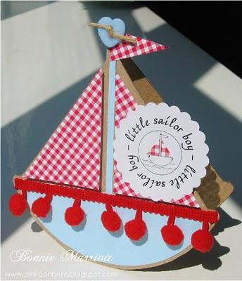 Boat Shaped Card2