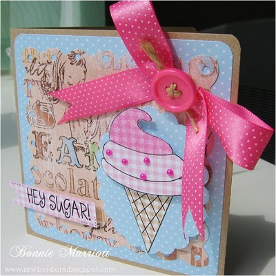 Hey Sugar Bonnie Marriott - Sweet stuff printable stamp set and From my Kitchen set