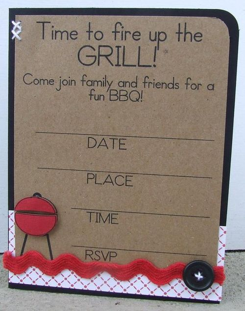 Fire up the grill - Amy Duff