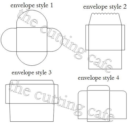 quarter fold envelope