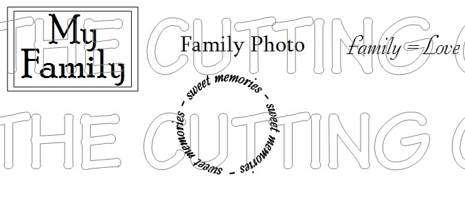 FAMILY SENTIMENTS