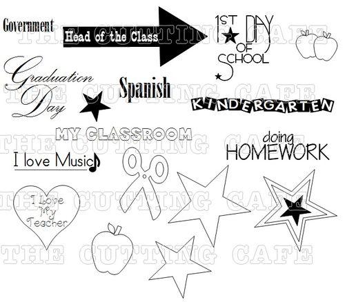 THE SCHOOL YEARS 2