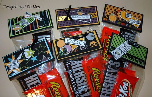 Treat Set  Julia Moss - Halloween mini colored set