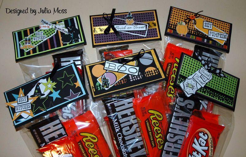 Treat Set  Julia Moss - Halloween mini colored set