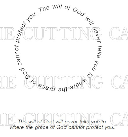 THE WILL OF GOD QUOTE