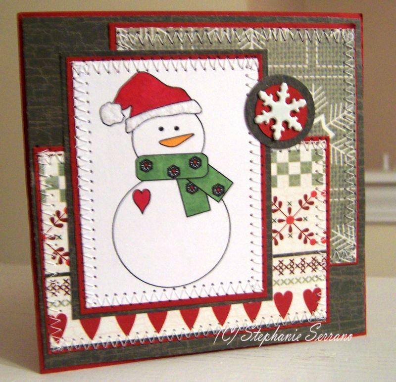Add wednesday  snowman  Stephanie Serrano - Fun with frosty the Snowman