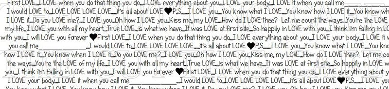 ITS ALL ABOUT LOVE