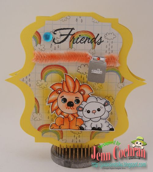 Friends  Jenn Cochran nesting frame