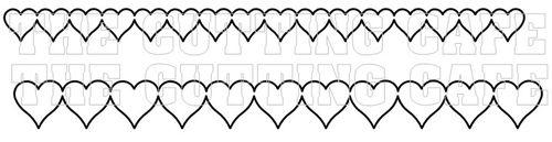 HEART BORDERS 3