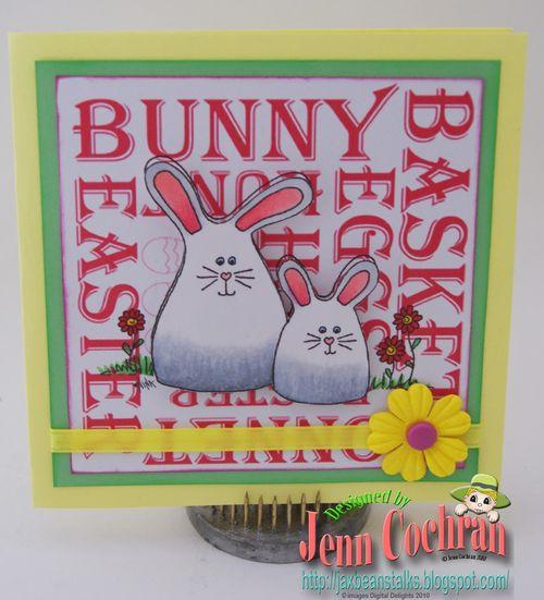 Bunny  Jenn Cochran - Easter set 1