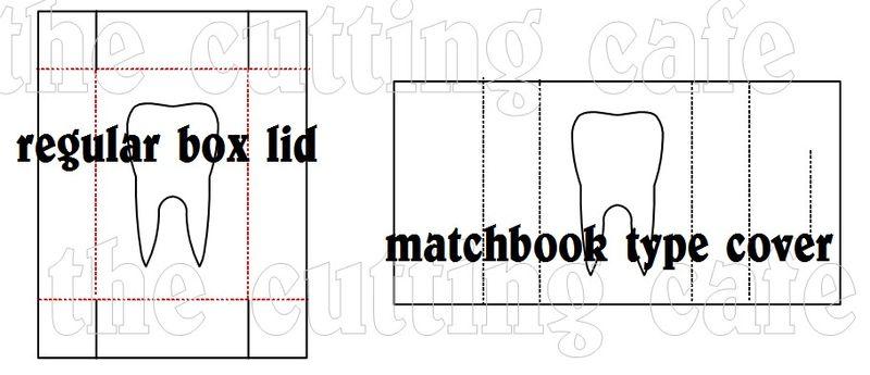 Tooth matchbook set