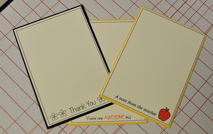 Note pad set 9