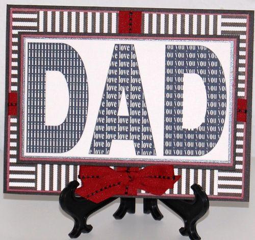 DAD i love you   Karen